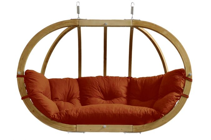 Hamac Chaise 2 Personnes 'Globo Royal' Terracotta