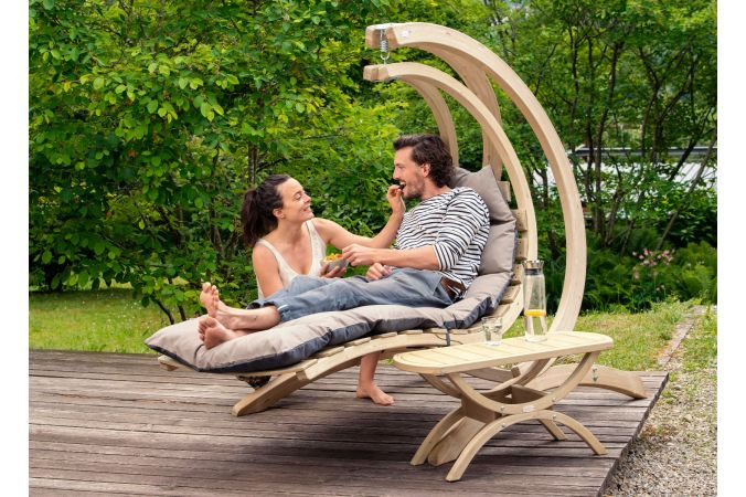 Hamac Chaise 1 Personne 'Swing Lounger' Anthracite