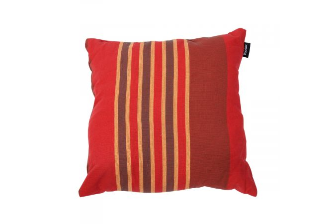 Coussin 'Stripes' Terracotta