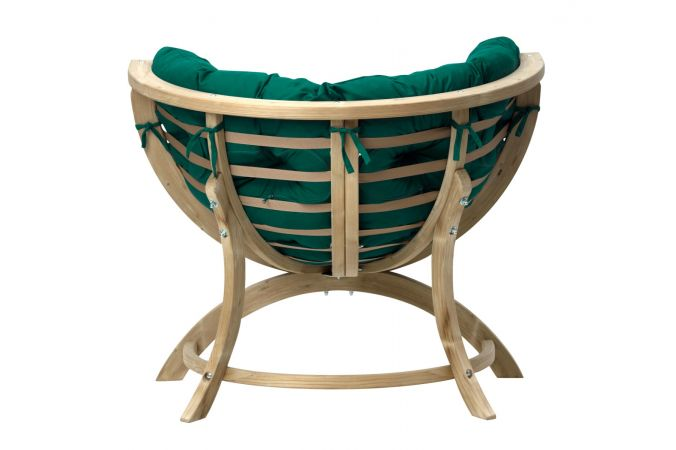 Fauteuil 'Siena' Green