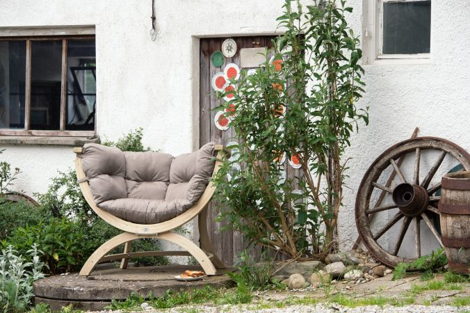 Fauteuil 'Siena' Taupe