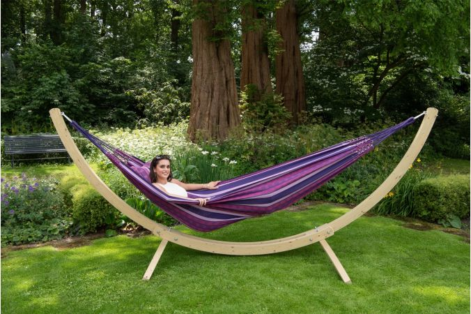 Hamac Avec Support 2 Personnes 'Wood & Chill' Love