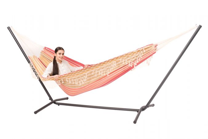 Hamac Avec Support 2 Personnes 'Easy & Tortuga' Earth