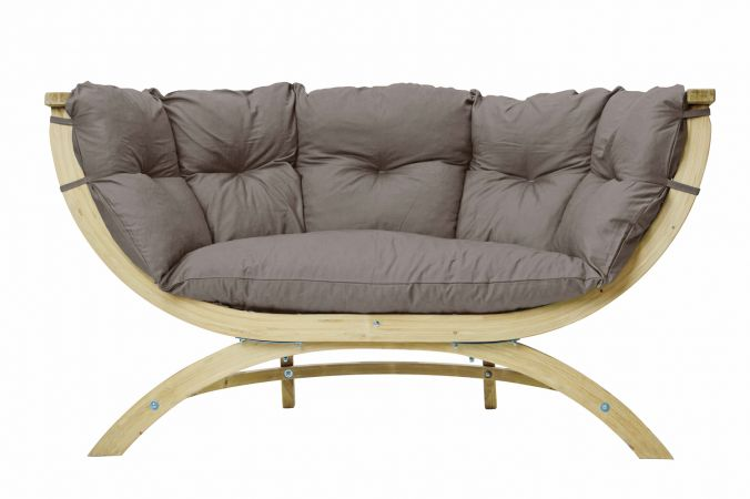 Fauteuil 'Siena Royal' Taupe