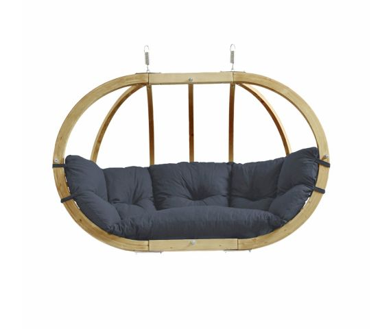 Hamac Chaise 2 Personnes 'Globo Royal' Anthracite