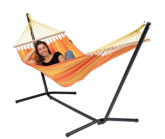 Hamac Avec Support 1 Personne 'Easy & Relax' Orange