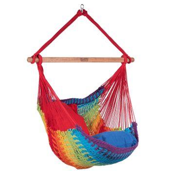 Hamac Chaise 1 Personne 'Mexico' Rainbow