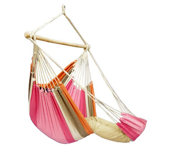 Hamac Chaise 1 Personne 'Tropical' Lychee Lounge
