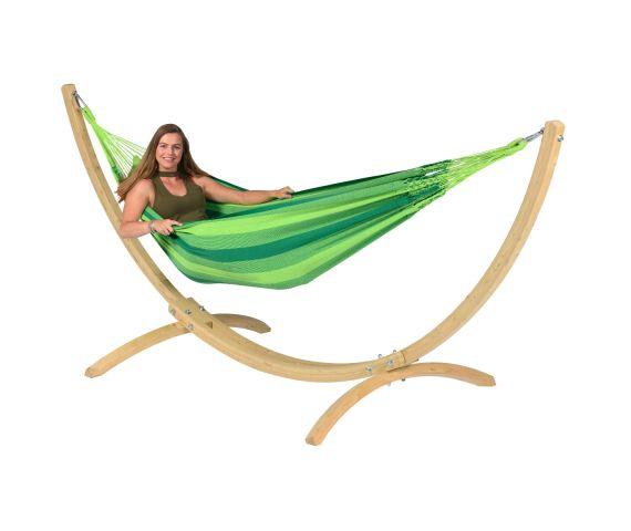 Hamac Avec Support 1 Personne 'Wood & Dream' Green