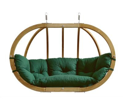 Hamac Chaise 2 Personnes 'Globo Royal' Weatherproof Green